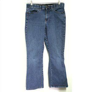 Lee Womens 14 Short Jeans Bootcut Comfort Waist